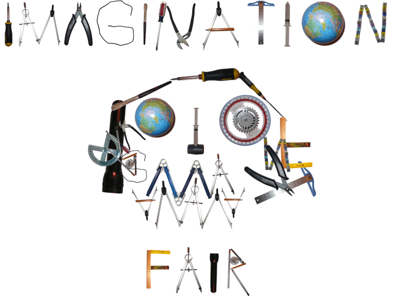 2014 Imagination Fair Logo Contest Winner - Tools of Creativity