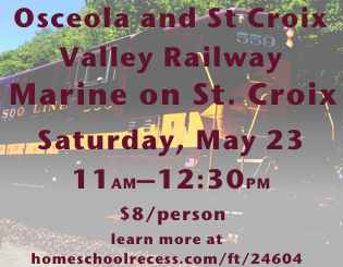 Osceola and St Croix Valley Railway - Marine on St. Croix