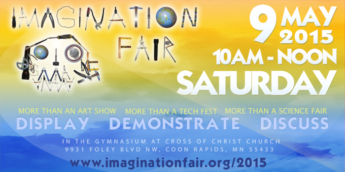 Imagination Fair Invitation
