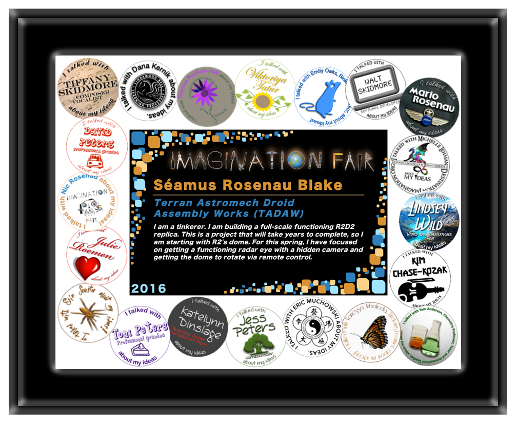 Imagination Fair Participation Certificate
