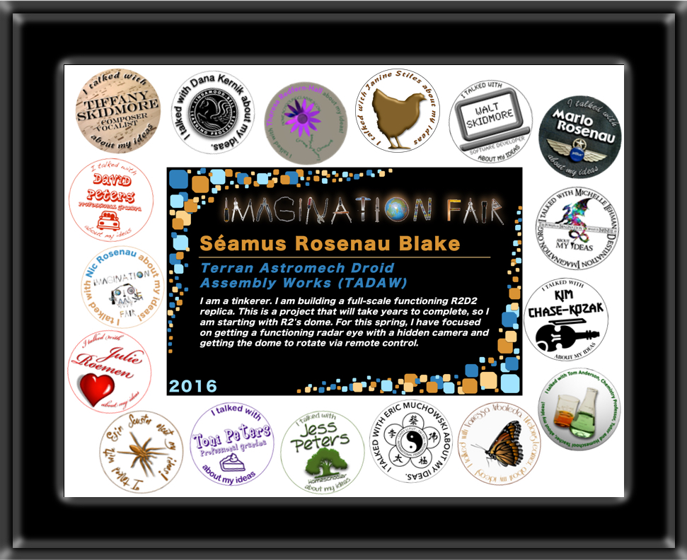 Imagination Fair 2016 Participation Certificate Example