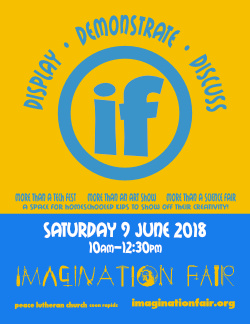 Imagination Fair Flyer