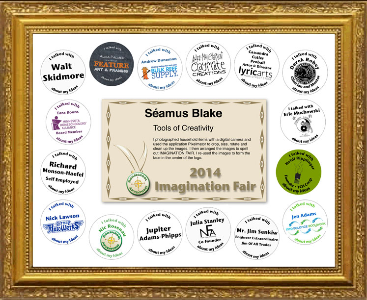 Imagination Fair Certificate