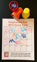 Imagination Fair 2014 Game Card