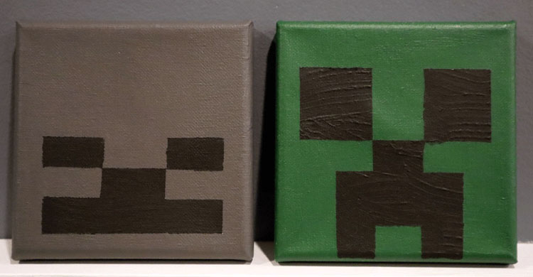 Minecraft Canvases by Ephram.