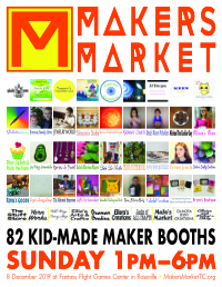 Makers Market Logo Flyer 2019