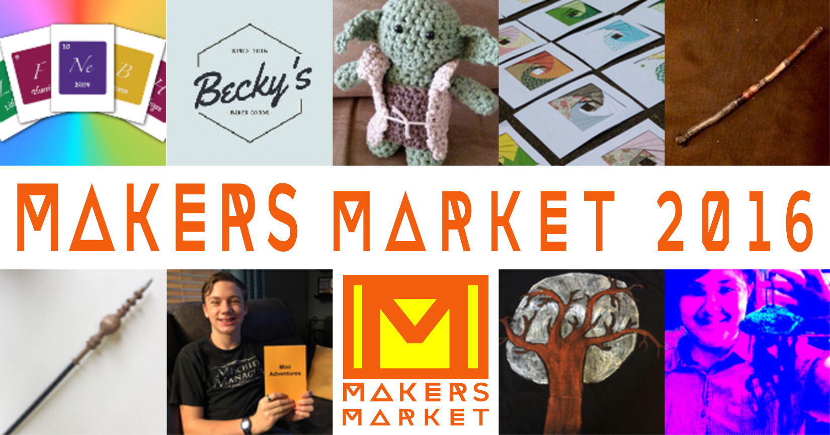 Makers Market 2016 booths
